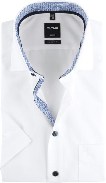 OLYMP Luxor Hemd Weiß Design