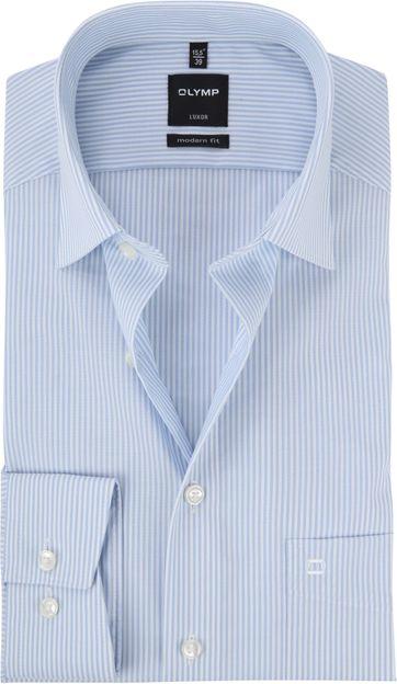 OLYMP Luxor MF Shirt Stripe Blue