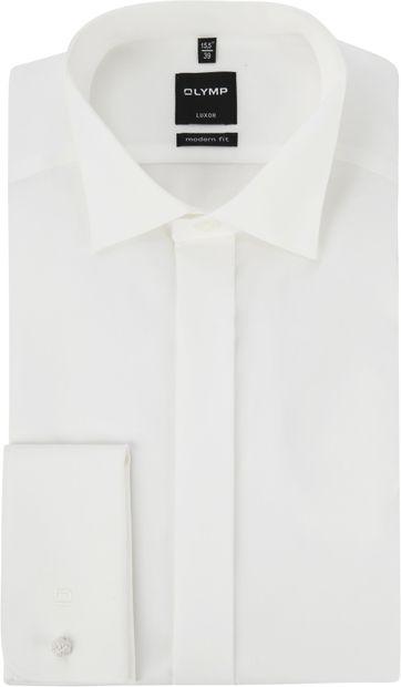 OLYMP Luxor MF Tuxedo Shirt Ecru SL7