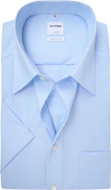 OLYMP Luxor Overhemd Comfort-Fit Lichtblauw