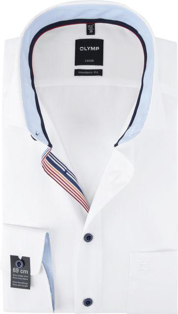 OLYMP Luxor Overhemd Wit SL7