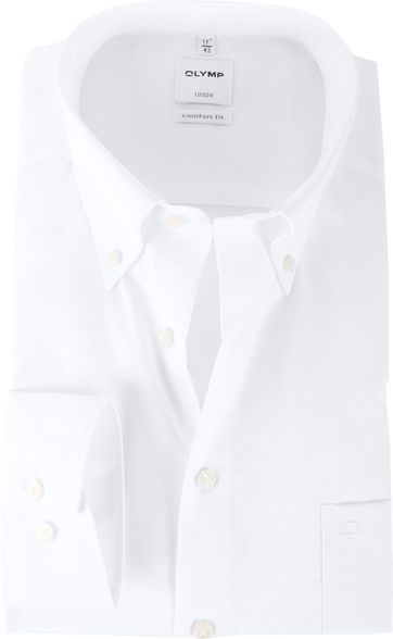 OLYMP Luxor Shirt Comfort Fit Wit