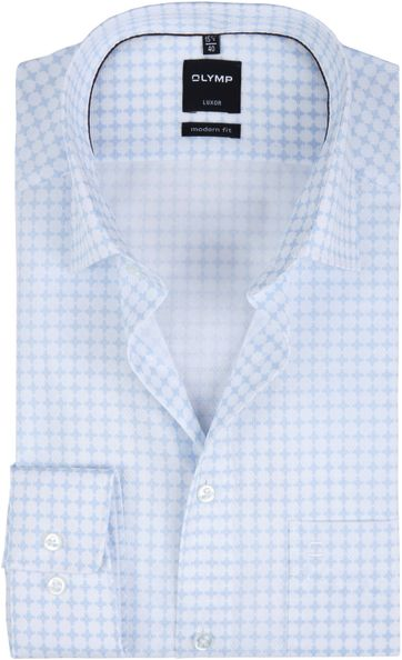 OLYMP Luxor Shirt MF Light Blue