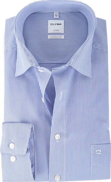 Olymp Luxor Shirt Stripe Comfort Fit