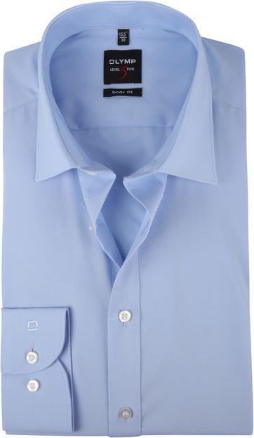 OLYMP Overhemd Blauw Body Fit