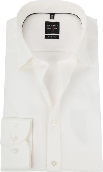 OLYMP Overhemd Level 5 BF Off-White