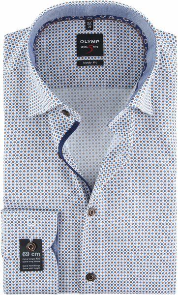 OLYMP Overhemd Lvl 5 Stippen SL7