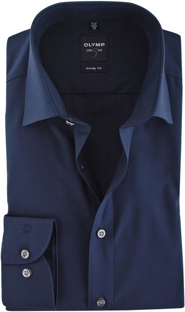 Olymp Shirt Body Fit Navy