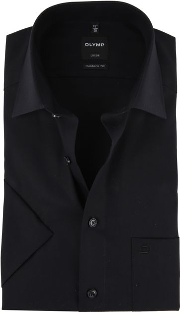 OLYMP Shirt Luxor Black
