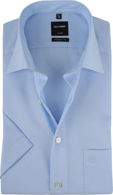 OLYMP Shirt Luxor Blue