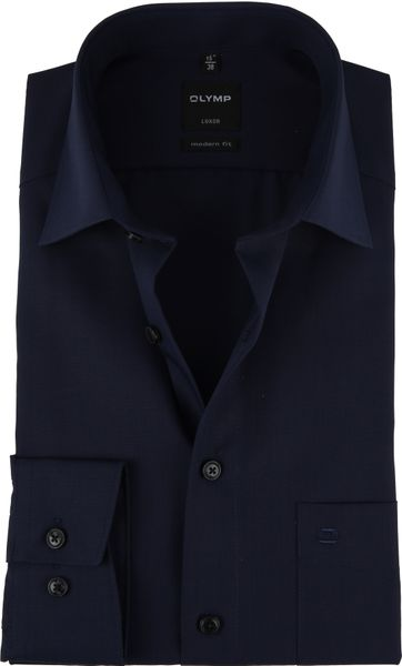 OLYMP Shirt Luxor Modern-Fit Dark Blue