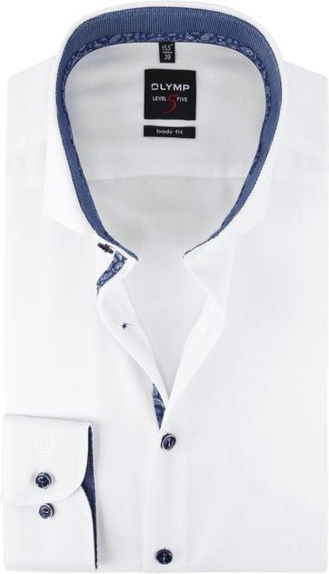 OLYMP Shirt Lvl 5 White