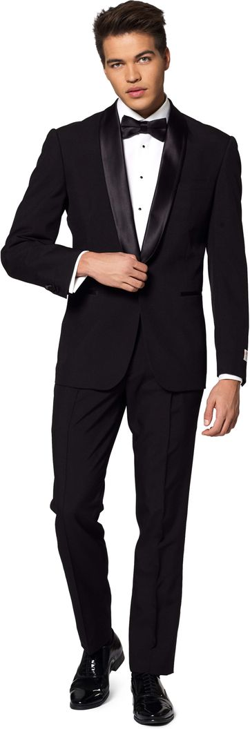 OppoSuits Jet Set Black Suit