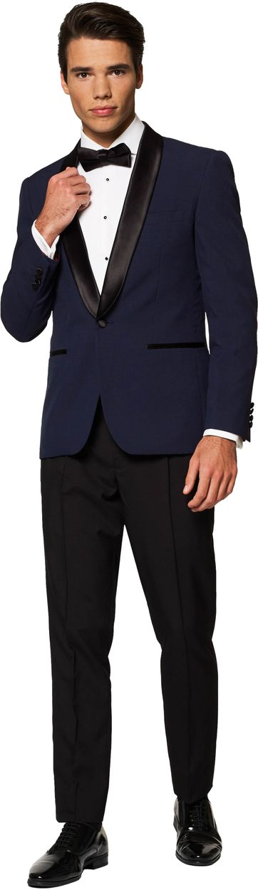 OppoSuits Midnight Blue Suit