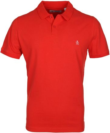 Original Penguin Poloshirt Rot