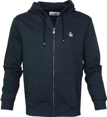 Original Penguin Zip Hoodie Navy