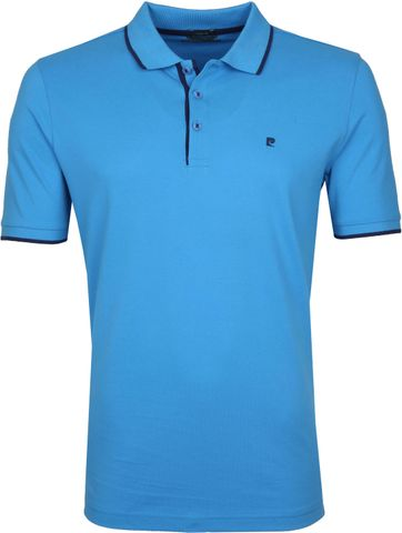 Pierre Cardin Poloshirt Diving Aqua