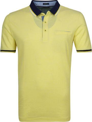 Pierre Cardin Poloshirt Gelb Airtouch