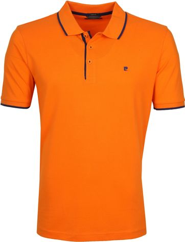 Pierre Cardin Poloshirt Orange Airtouch