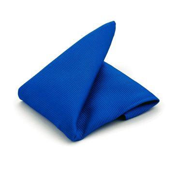 Pocket Square Kobalt Blue F65