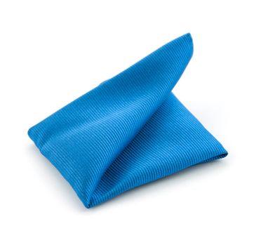 Pocket Square Ocean Blue F32