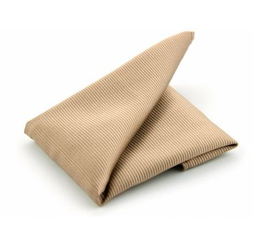Pocket Square Silk Beige F54