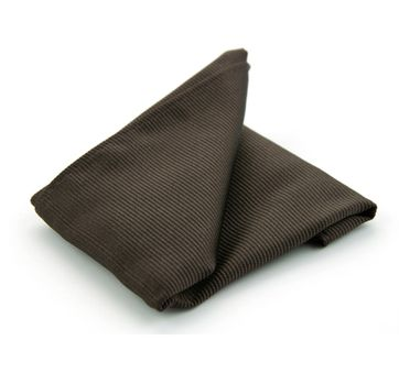Pocket Square Silk Brown F45