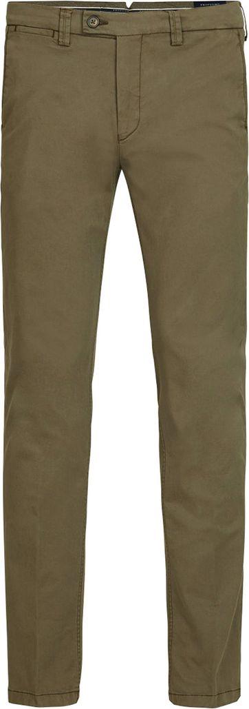 Profuomo Chino Garment DYE Green