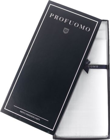 Profuomo Handkerchief Set White