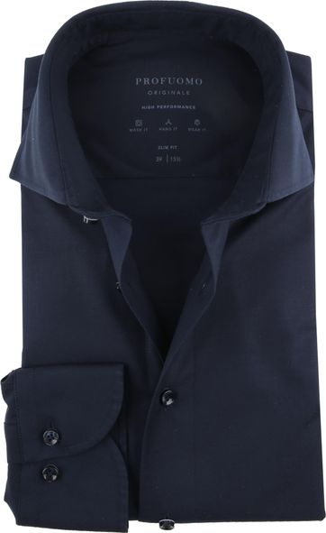 Profuomo High Performance Shirt Dark Blue