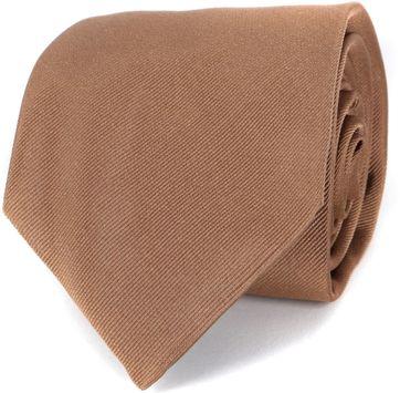 Profuomo Krawatte Camel 16P