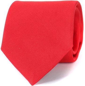 Profuomo Krawatte Rot 16R