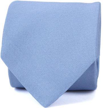 Profuomo Krawatte Seide Blau