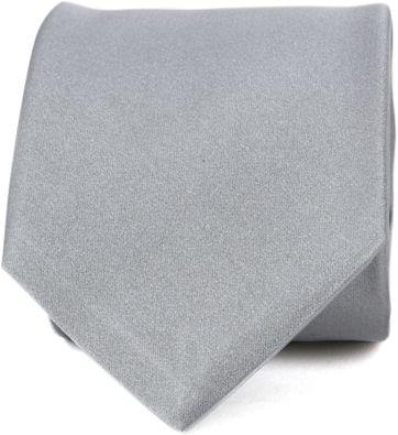 Profuomo Krawatte Seide Grau