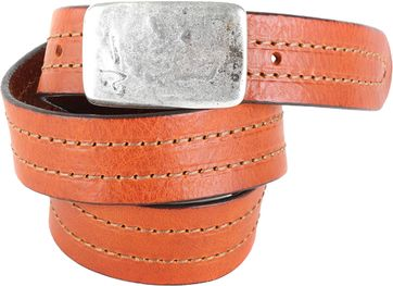 Profuomo Leather Belt Barcelona Cognac