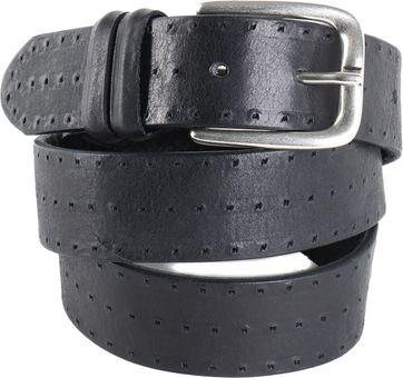 Profuomo Leather Belt Berlin Black