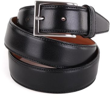 Profuomo Leather Belt Black