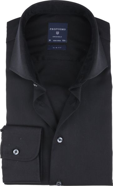 Profuomo Non Iron Shirt Black
