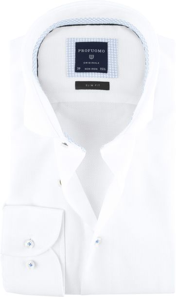 Profuomo Originale Shirt White