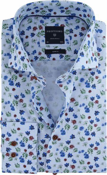 Profuomo Overhemd Flower
