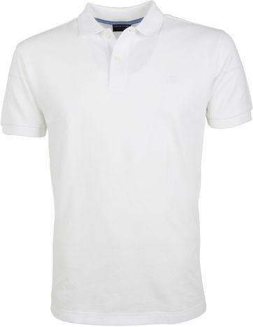 Profuomo Poloshirt Basic Wit