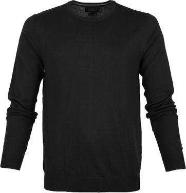 Profuomo Pullover O-Neck Black