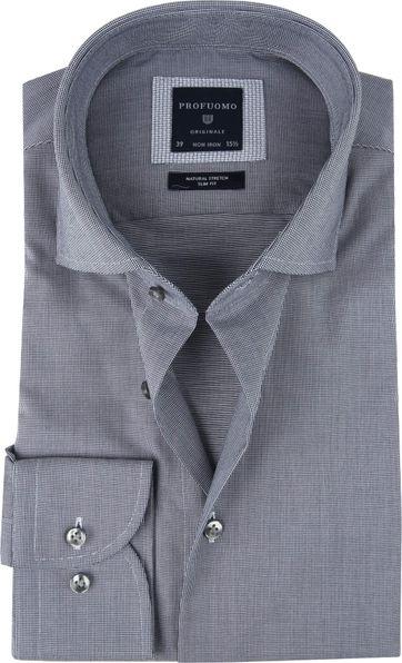 Profuomo Shirt SF Dobby Navy