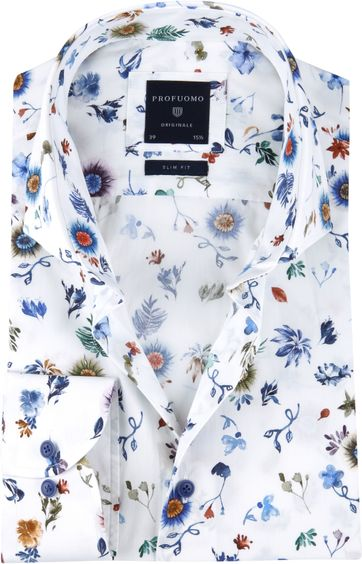 Profuomo Shirt SF Flowerdesign