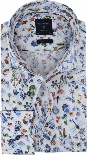 Profuomo Shirt SF Flowers