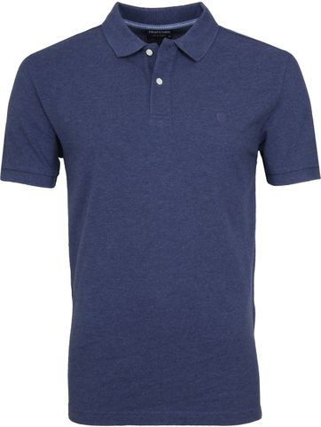 Profuomo Short Sleeve Polo Indigo
