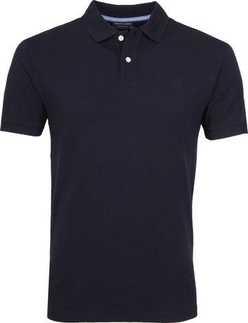 Profuomo Short Sleeve Polo Navy