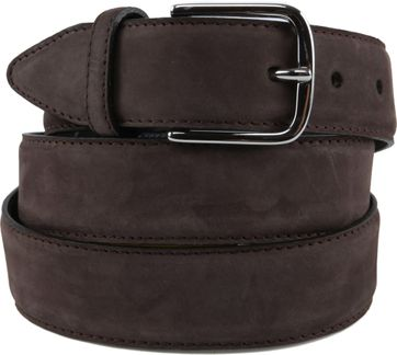 Profuomo Suede Brown Belt