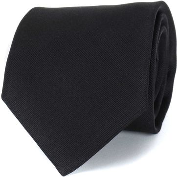 Profuomo Tie Black 16J