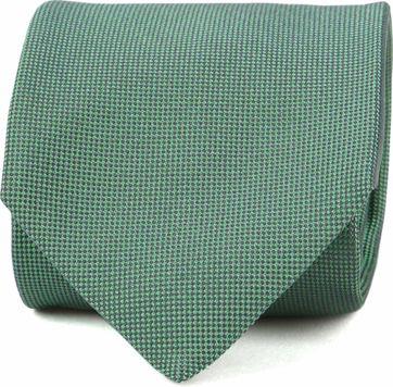 Profuomo Tie Silk Green